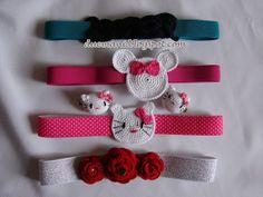 Handmade Cristina: Crochet headbands