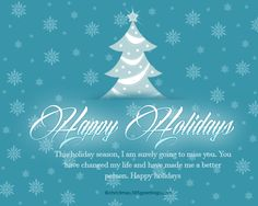 Happy Holidays Messages And Wishes  Happy Holidays Message