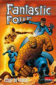 Couverture de Fantastic Four (Marvel Deluxe) -2- Coup de force