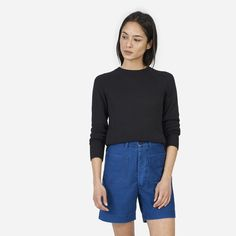 Everlane | The Open Knit Crew
