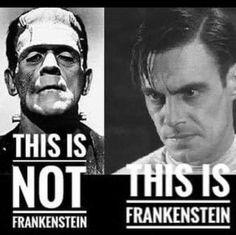 Danse Macabre, Frankenstein, Haha Funny, Horror Movies, Favorite Quotes, Mens Sunglasses, Memes, Fictional Characters, Masters