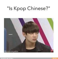 My face when a fried is asking a stupid question about kpop... -_-
