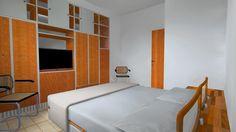 MO01 - Ristrutturazione di intero immobile (Molinella, BO): camera matrimoniale