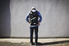 モバックのファーストリュック休日のお供に #mobac #モバック #リュック #カジュアルバッグ #デイパック #backpack #blackbag #タウンユース #オリジナルバッグ