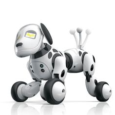 Electronic Toys Active 777-338 Birthday Gift Rc Zoomer Dog 2.4g Wireless Remote Control Smart Dog Electronic Pet Educational Childrens Toy Robot Toys