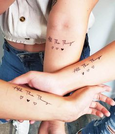 Bestie Tattoos Bff, 3 Best Friend Tattoos, Matching Friendship Tattoos, Friend Tattoos Small, Small Heart Tattoos, Squad Tattoos Best Friends, Bestfriend Tattoo Ideas, Sister Heart Tattoos, Tattoo Friendship