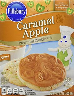 Pillsbury Caramel Apple Premium Cookie Mix 2 Boxes of Mix -- Read more reviews of the product by visiting the link on the image.