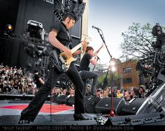 Billy Talent, punk band out of Canada, puts on an amazing live act.