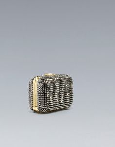 JEWELLED PARTY BOX BAG @ZARA