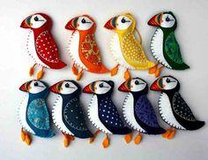 handmade felted birds - Buscar con Google