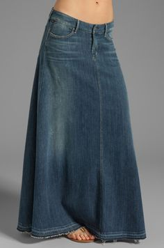 Citizens of Humanity Jeans Anja Maxi Skirt em Dizzy | REVOLVE