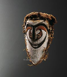 Face Mask, Melanesia, Papua New Guinea. New-Mecklemburg Archipelago, Duke of York Islands