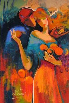 'Doce' Colheita - Irene Sheri e suas românticas pinturas