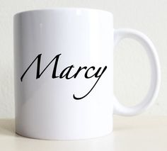 Custom Name Mug  Men's Personalized Gift  by Tolucreations on Etsy