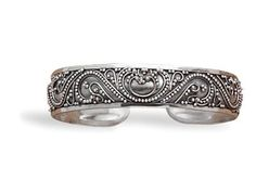 Cuff with Bead Filigree Design 925 Sterling Silver Designer BillyTheTree Jewelry http://www.amazon.com/dp/B0068UMVYO/ref=cm_sw_r_pi_dp_ejvYtb1MP2JQW4WC