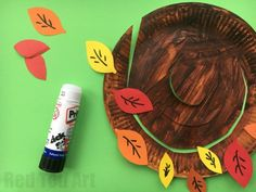 Autumn Tree Paper Plate Whirligig - Red Ted Art's Blog