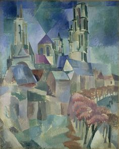 Robert Delaunay, The Towers of Laon, 1912