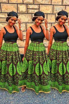 african prints   african print african print high waist maxi skirt by styledbyash 9 ...