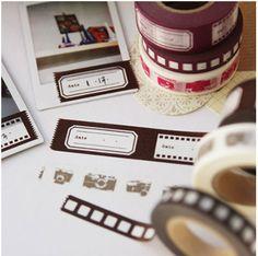 Movie Reel Masking Tape Set