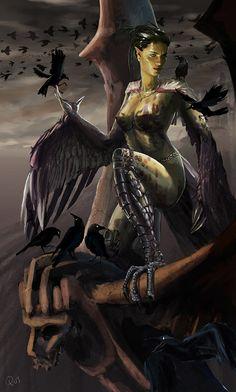 complete harpy also bra by QuyZone.deviantart.com on @deviantART