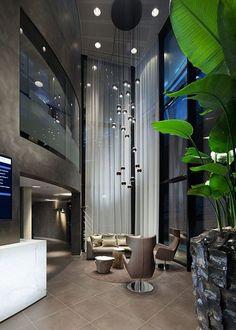 Masculine interiors / Penthouse style / RLD