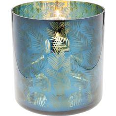 Svietnik Lantern Jungle Fever 29cm Kare Design, Deco Design, New Furniture, Karate, Pillar Candles, Lanterns, Candle Holders, Interior Design, Home Decor