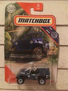 Matchbox Blue Jeep Willys MBX Jungle 68/100 2020 | eBay Blue Jeep, Ebay Sale, Jeep Willys, Jeep Life, Hot Wheels, Monster Trucks, Toy, The Unit, Cars