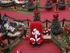 Venha conhecer nossa decoração e aproveite para tirar foto com o Papai Noel.
