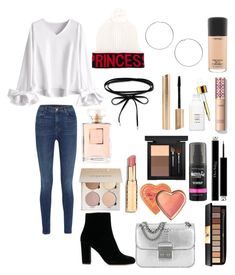 """""""Untitled #957"""" by lalimalenagonzalezoficial on Polyvore featuring beauty, J Brand, Dolce&Gabbana, Michael Kors, Miss Selfridge, MAC Cosmetics, Yves Saint Laurent, Christian Dior, Maybelline and Too Faced Cosmetics"""