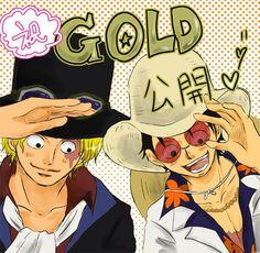 One Piece, ASL, Sabo, Luffy