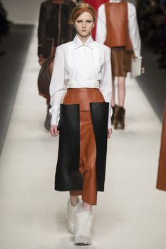 All the runway looks from Fendi: Milan Ready-to-Wear Autumn/Winter 2015/16