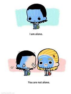 Loki and Thor as kids