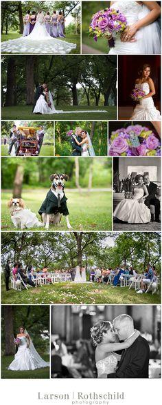 minihaha falls wedding photography