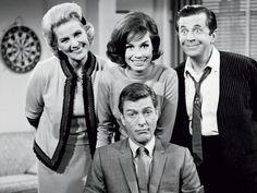 """the dick van dyke show"" - cast publicity photo"