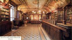 #Farmacie storiche in Italia: Spezieria Santa Maria della Scala (Roma)