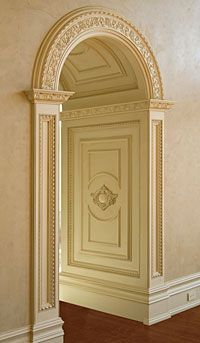 1000 images about home decor on pinterest luxury for Decorative archway mouldings