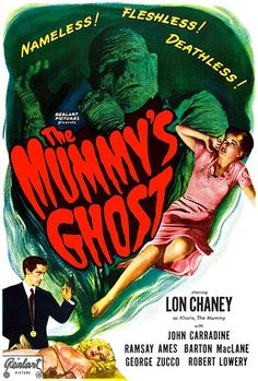 The Mummy's Ghost - 1944 - Movie Poster