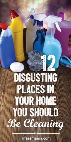 12 Disgusting Places In Your Home You Should Be Cleaning