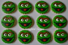 gallery of song bird sweets cookies | Little Oscar Face Cookies | Cookies by Songbird Sweets