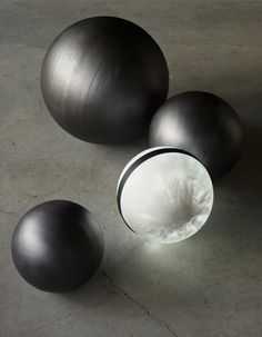martha sturdy steel spheres and white marble resign light. Modern Art Sculpture, Chiaroscuro, Canadian Artists, Resin Art, Glass Art, Art Photography, Steel, Furniture, White Marble