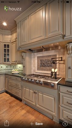 I love this color for cabinets.