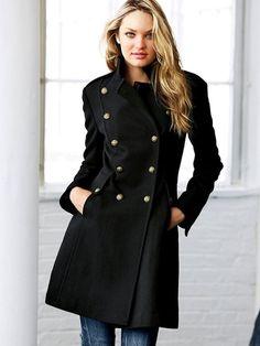 Wool Military Coat #VictoriasSecret http://www.victoriassecret.com/sale/coats-and-jackets/wool-military-coat?ProductID=4219=OLS?cm_mmc=pinterest-_-product-_-x-_-x