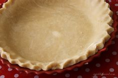 French apple pie - with a good looking crust recipe