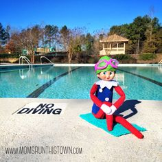 Fitsie the Elf The Elf, Elf On The Shelf, Waiting For Her, How Are You Feeling, Challenges, Swimming, Photo And Video, Holiday Decor, Full Body