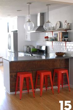 Sandra and Justin's Kitchen: The Big Reveal Renovation Diary