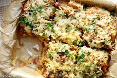 Hete aardappel-kipschotel   Kookmutsjes