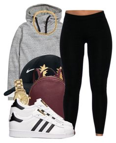 """""""Generic"""" by brandii2016 ❤ liked on Polyvore featuring H&M, NIKE, Vinca, Michael Kors and adidas"""