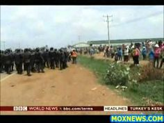 Thousands Of NIKE Factory Workers Clash With Police In Cambodia