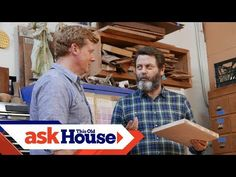 The world may know him as an actor and comedian, but Nick Offerman also loves woodworking.