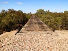 Railway Bridge (sans rails) at Farina Ruins, #Outback South #Australia @TourismSA